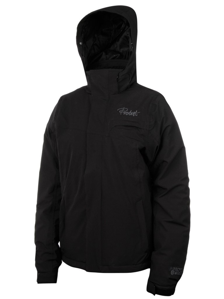 Protest Damen ski Jacke Royal XL schwarz – Schwarz günstig kaufen