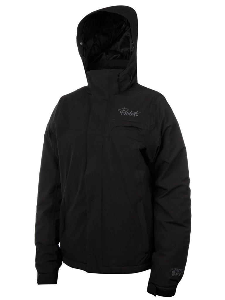 Protest Damen ski Jacke Royal XL schwarz - Schwarz