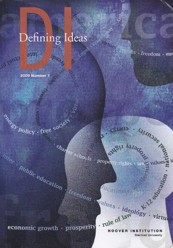 DI: Defining Ideas (2010, Number 1)
