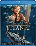 Cover art for  Titanic (Four-Disc Combo: Blu-ray / DVD / Digital Copy)