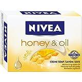 Nivea Honey & Oil Cremeseife, 4er Pack (4 x 100 g)