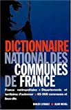 echange, troc Collectif - Dictionnaire national des communes de France