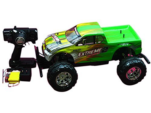 Green Monster Truck Toy : Quot wd rc monster truck mc green toys games remote