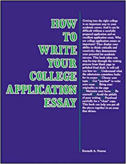 Writing a good college admissions essay death