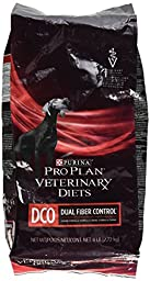 Purina Veterinary Diets Canine DCO Dual Fiber Control Dry Dog Food 6 lb bag