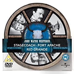 John Wayne Westerns Box Set 2011 Tin [DVD]