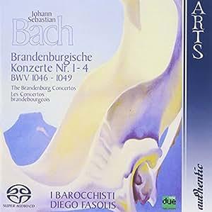 Bach: Brandenburgische Konzerte Nr. 1-4, BWV 1046-1049 [Hybrid SACD]