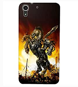 ColourCraft The Warrior Design Back Case Cover for HTC DESIRE 626G+