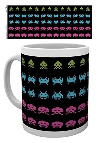 Space Invaders - Invader Wrap Tazza Da Caffè Mug (9 x 8cm)