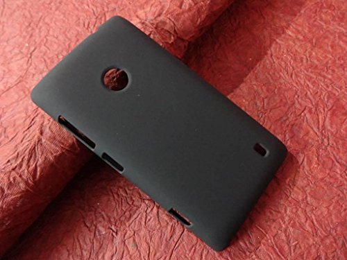 RJR Matte Finish Hard Back Case Cover For Nokia/Microsoft Lumia 520-Black  available at amazon for Rs.149