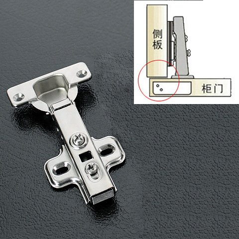 1 Pair/2 pcs Full overlay Cold Steel Rolling Soft Slow Close Kitchen Cabinet Door Hinges (Slow Close Hinge Cabinet compare prices)
