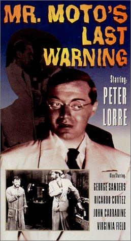 Mr. Moto's Last Warning [VHS] [Import]