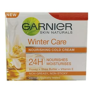 Garnier Skin Naturals Winter Care Nourishing Cold Cream (18g) (Pack of 2)