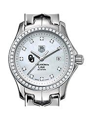 University of Oklahoma TAG Heuer Watch - Women's Link with Diamond Bezel