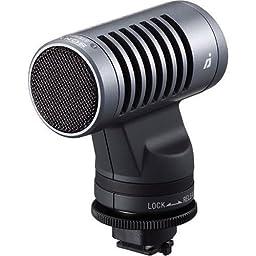 Sony ECMHST1 Stereo Microphone for DCR-HC96, DCR-DVD305, 405, 505, DCR-SR80, 100, HDR-HC3, HC5 & HDR-UX5 Camcorders