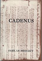 Cadenus: A Reassessment in the Light of New…