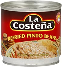 La Costena Refried Pinto Beans 141-Ounce Pack of 12