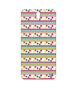 Vogueshell Dotted Pattern Printed Symmetry PRO Series Hard Back Case for Sony Xperia C5