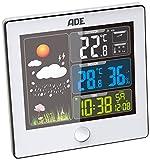 ADE Wetterstation Mit Außensensor Ws 1402 weiß one size