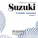 img - for Suzuki Violin School Volume 7 CD book / textbook / text book