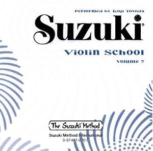 Suzuki Violin School Volume 7 CD Koji Toyoda