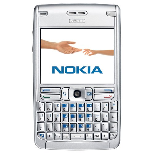 Nokia E62 Unlocked Phone With Media Player, Bluetooth, And Minisd Slot--U.S. Version With Warranty (Silver)