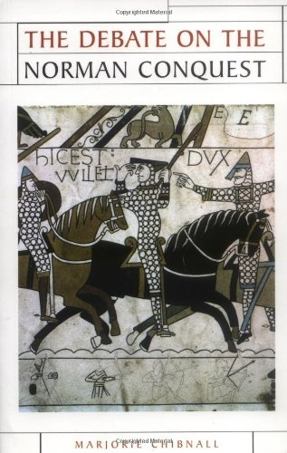 The Debate on the Norman Conquest (Issues in Historiography MUP)