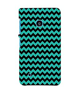 Fuson 3D Printed Pattern Designer Back Case Cover for Nokia Lumia 530 - D1004