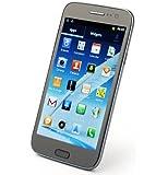 Tengda F7100 - 5.0 Inch Capacitive Screen Smartphone Android 4.1 MTK6575 1GHz Dual SIM 3G GPS 3.0MP Camera WIFI Gray
