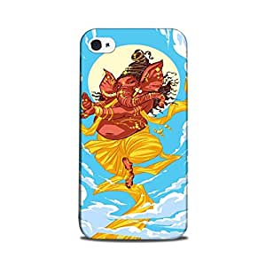 StyleO iPhone 4 / iPhone 4s Designer Printed Case & Covers Matte finish Premium Quality (iPhone 4 / iPhone 4s Back Cover) - Lord Ganesha