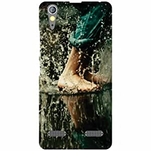 Lenovo A6000 Plus Back Cover - Feet Designer Cases