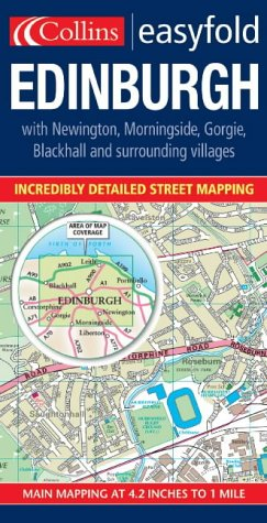 Edinburgh Easyfold Map PDF