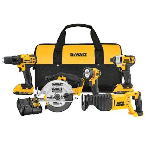 Dewalt-20-Volt-Max-Lithium-Ion-Cordless-Combo-Kit-Includes-2-Lithium-Ion-Batteries