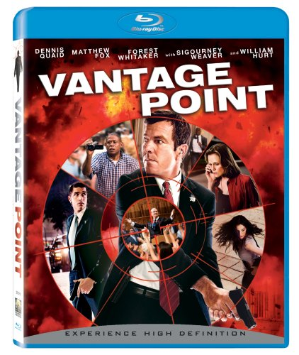 Cover art for  Vantage Point (+ BD Live) [Blu-ray]