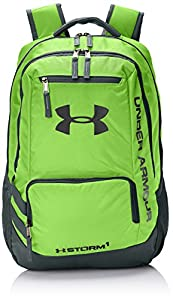 Under Armour Hustle II Backpack, Hyper Green, One Size