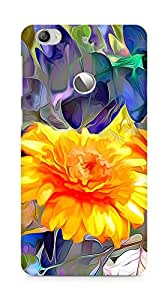 Amez designer printed 3d premium high quality back case cover for LeEco Letv Le 1S (Flowers abstract art)