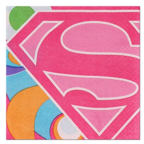 Super Girl Power Small Napkins (16ct)