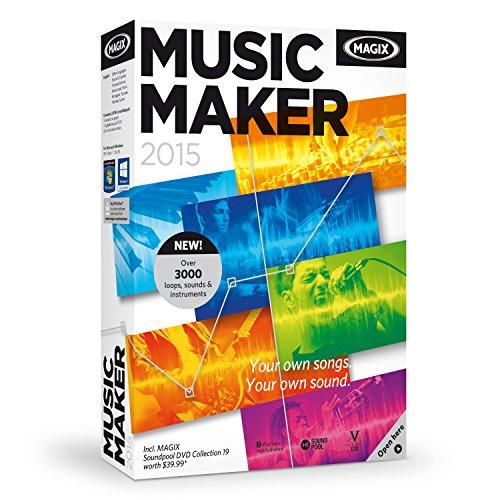 MAGIX Music Maker 2015 (Rap Recording Software compare prices)