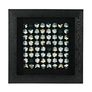 Premier Housewares Metal 3D Squares Framed Wall Art 90 X