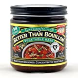 Betterthan Bouillon-Vegetable Base Organic, 8-Ounce (Pack of 3)