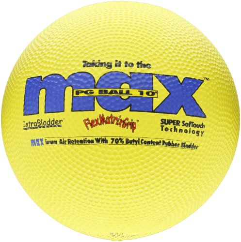 SportimeMax Playground Balls - 10 Inch - Yellow