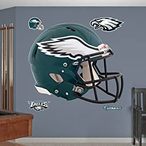 NFL Philadelphia Eagles Helmet Wall Graphics by Fathead