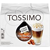 TASSIMO Carte Noire Latte Macchiato Caramel coffee 16 T DISCs/pods - Pack of 5