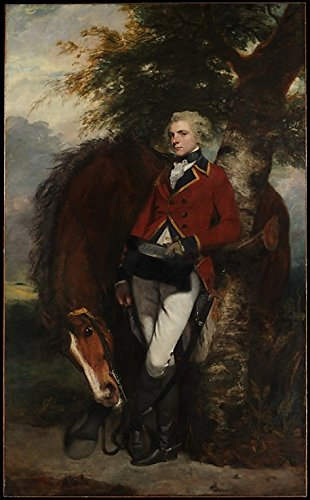 Captain George K. H. Coussmaker (1759-1801) Poster Print By Sir Joshua Reynolds (18 X 24)