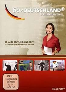 60 x Deutschland - Jubiläumsbox (60 Jahre BRD auf 6 DVDs)