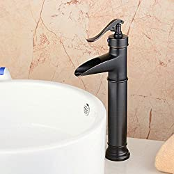 Hiendure® Single Control Vessel Bathroom Faucet, Oil Rubbed Bronze