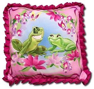 Decorative Princess Pillows : Amazon.com - Disney The Princess and The Frog Decorative Pillow - Throw Pillows