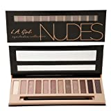 L.A. Girl Beauty Brick Eyeshadow Collection (NUDE)