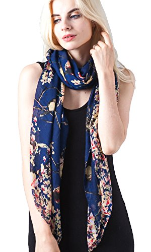 ladies-womens-fashion-butterfly-print-long-scarves-floral-neck-scarf-shawl-wrap-navy