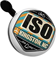 Bicycle Bell Airportcode ISO Kingston NC by NEONBLOND
